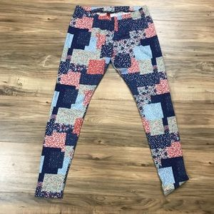 H&M quilted patch leggings fits like size 5